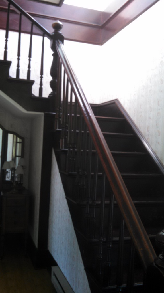 View of original stairwell